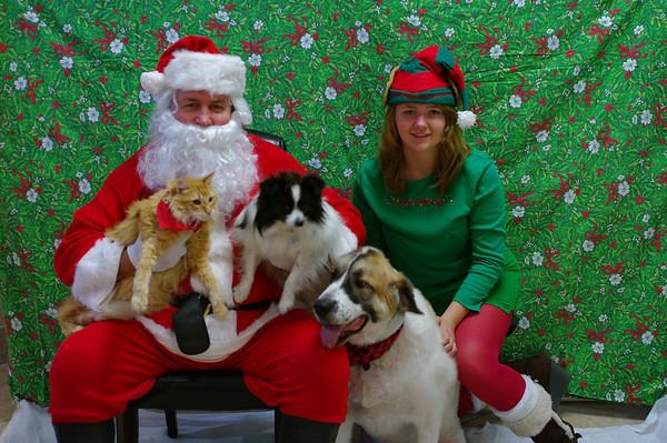 Santa pictures 2012