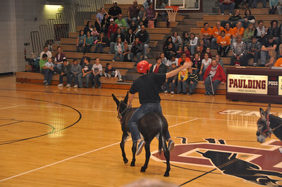 Donkey Basketball November 2010