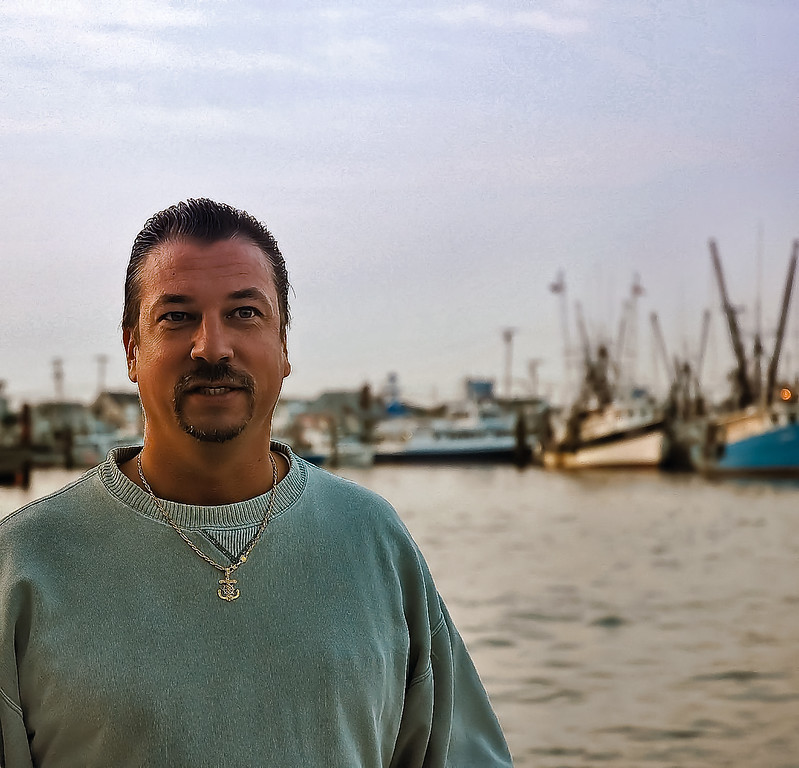 This is one of my favorite portraits of Walter, notice the ANCHOR medal around his neck, he's a Navy Veteran so this shot with the ships in the background fits him perfectly !