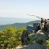 Franklin Cliffs overlooks the Shenandoah Valley