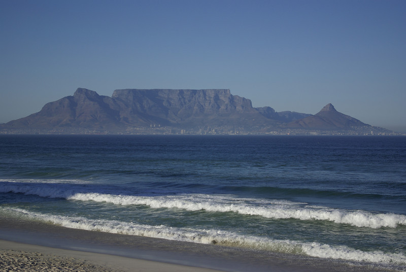 Cape Town, Table Mtn. from West Coast