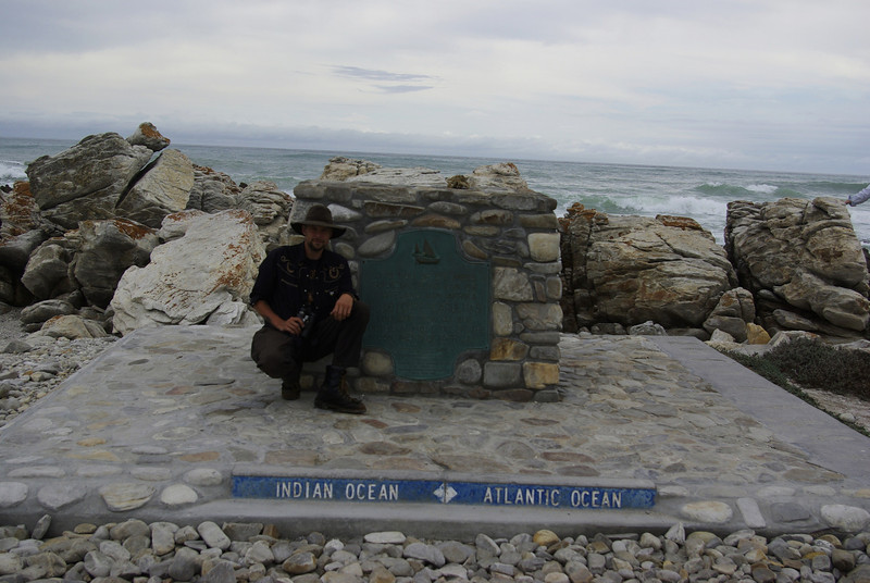 me at Cape Agulhas