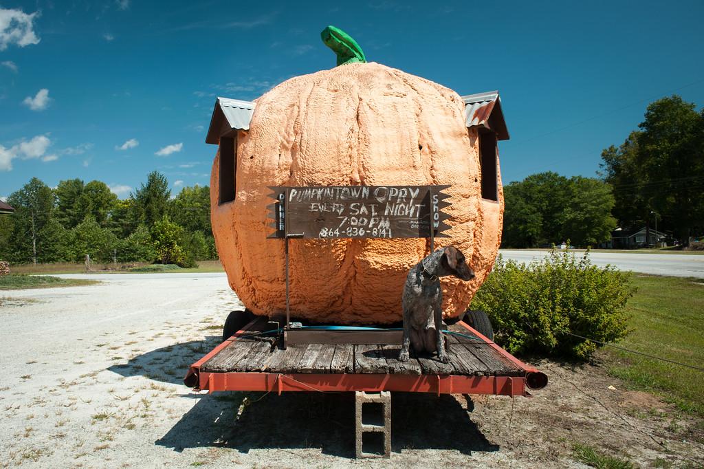 Pumpkintown, SC (Pickens County) September 2015
