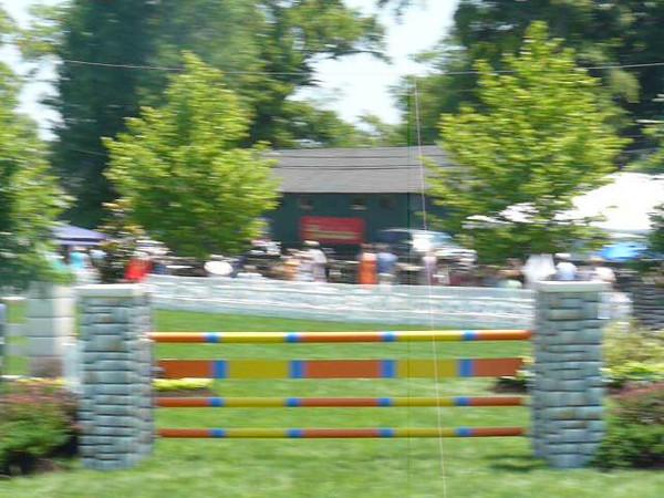 Upperville Horse Show Driving cors de elegance
