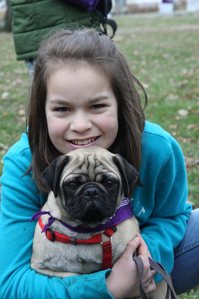Samantha Peters with her Ozzy