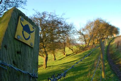 The Viking Way marker