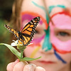 Young Girl with Butterfly