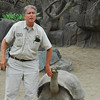Chuck and a Galapagos Tortoise