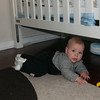 Not crawling, but still going places!