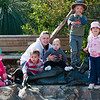 A lovely day at the zoo with oue friends Sami, Aiden and Finley :-)