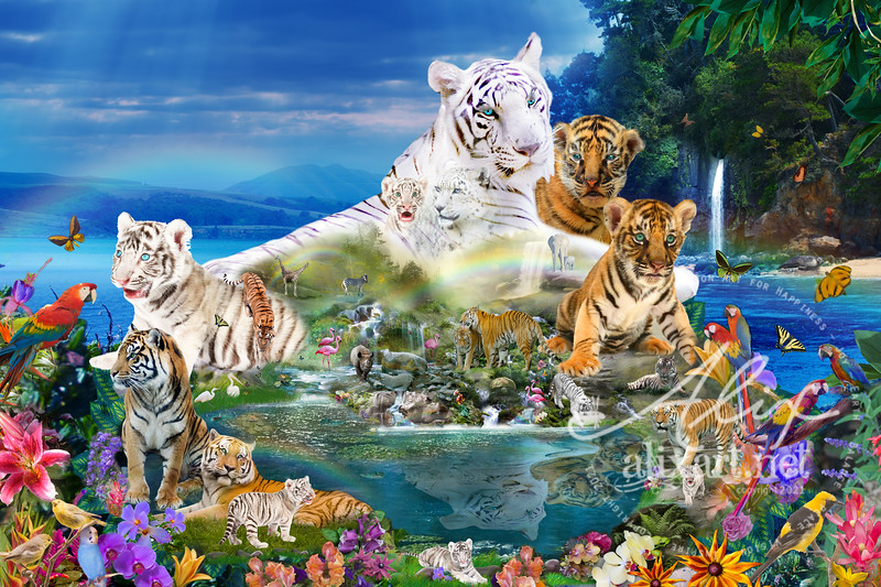 Dreaming of Tigers  (Variation)