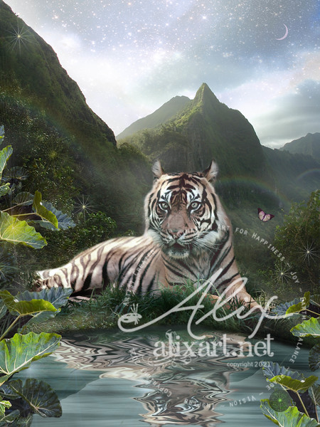 Mystic Tigress