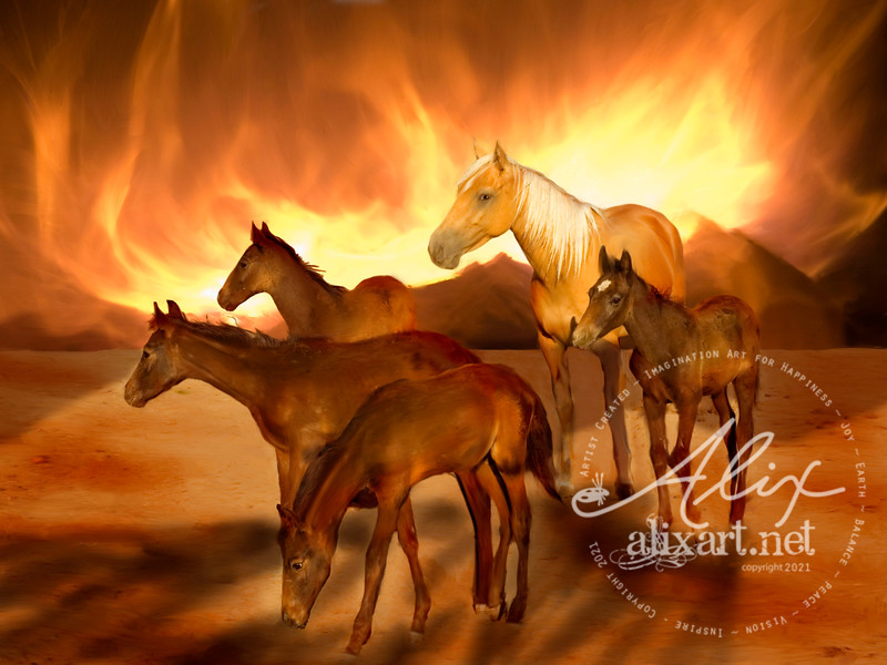 Mother Fire Horse