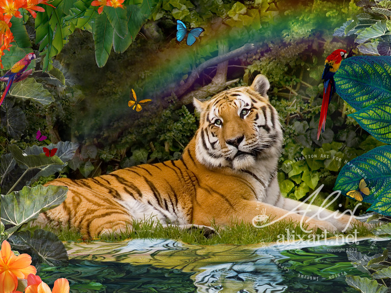 Enchaned Tigress