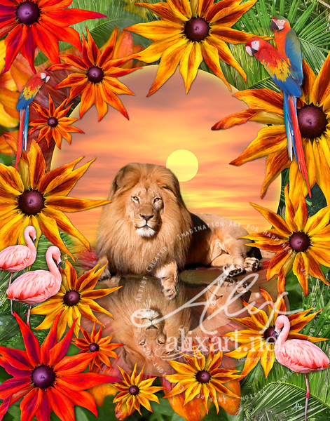 Tropical Lion