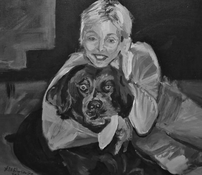 """Deb and Ozzie"", Level II, Acrylic on Canvas"
