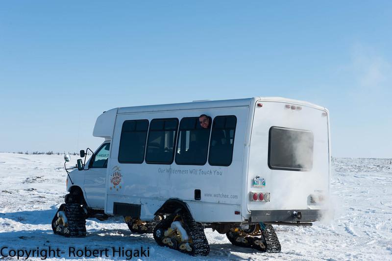 Norman- driver of the food van