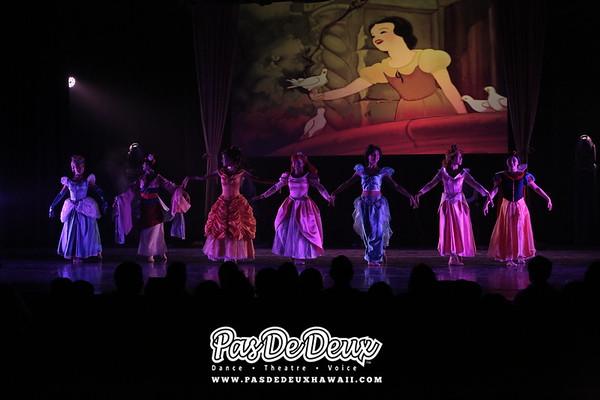 8. Disney Princesses
