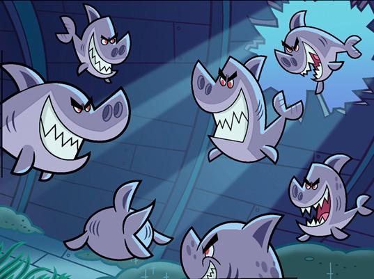 Client: Nickelodeon Show: Fairly OddParents Episode: Finding Cosmo © Nickelodeon Character supervisor: Gordon Hammond Art director: Ernie Gilbert Color: Kristen Donner