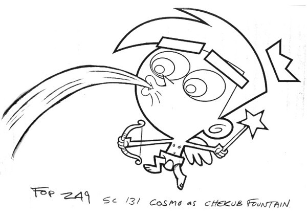 Client: Nickelodeon Show: Fairly OddParents Episode: Jimmy Timmy Power hour Two: When Nurds Collide © Nickelodeon Character supervisor: Gordon Hammond Art director: Ernie Gilbert