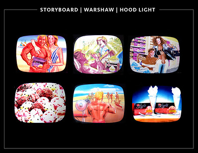 Storyboard work / Rep Warshaw