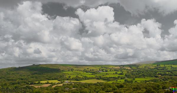 Wales Landscape. B&W and color Edit