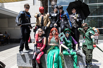 Animazement 2017 DC's Gotham City