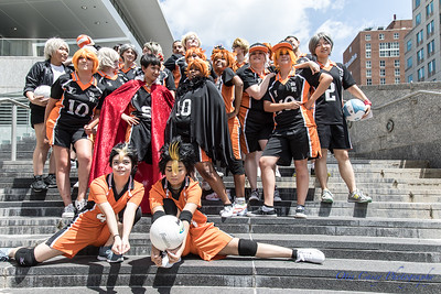 Animazement 2017 Haikyuu