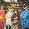 Flareon, Joltron, Eevee, and Vaporeon