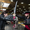 Captain Hook and Blackbeard