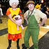 Muriel Bagge, Eustace Bagge, and Courage