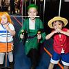 Nami, Roronoa Zoro, and Monkey D. Luffy