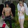 Devil Jin and Angel