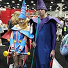 Dark Magician Girl and Dark Magician