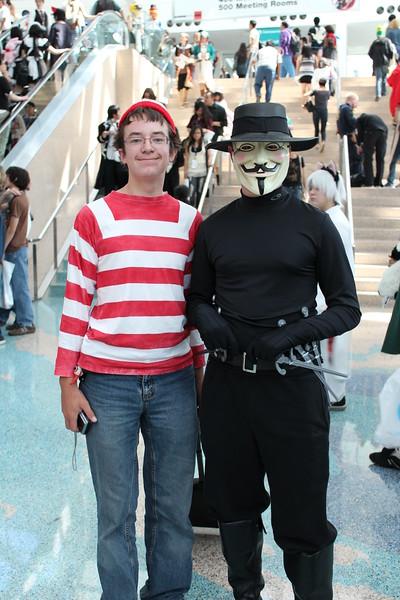 Waldo and V