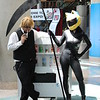 Shizuo Heiwajima and Celty Sturluson