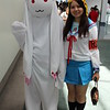 Kyubey and Haruhi Suzumiya