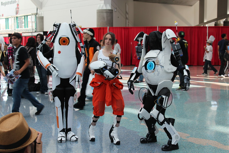P-body, Chell, and ATLAS