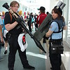 Leon Kennedy and Jill Valentine