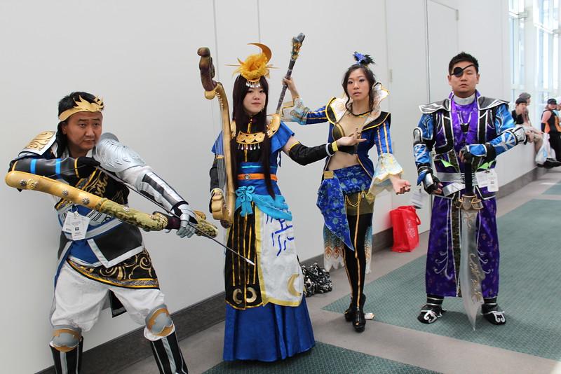 Xiahou Yuan, Cai Wenji, Zhen Ji, and Xiahou Dun