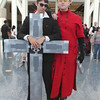Nicholas D. Wolfwood and Vash the Stampede
