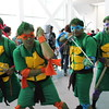 Raphael, Michelangelo, Leonardo, and Donatello