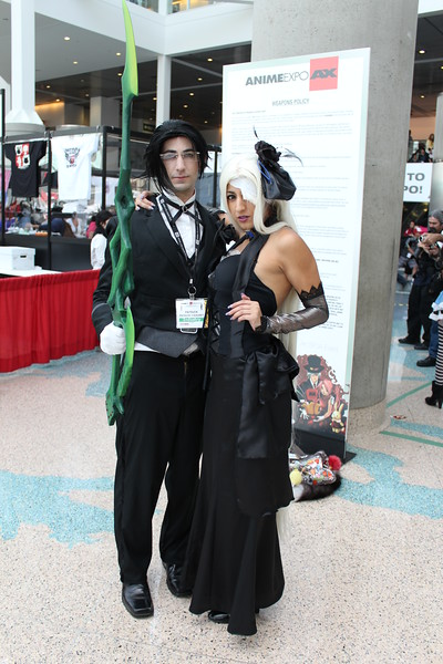 Claude Faustus and Hannah Anafeloz