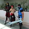 Ermac, Liu Kang, and Sub-Zero