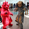Red XIII and Predator