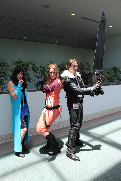 Rinoa Heartilly, Quistis Trepe, and Squall Leonhart