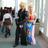 Cloud Strife and Princess Zelda