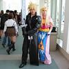 Cloud Strife and Princess Zelda