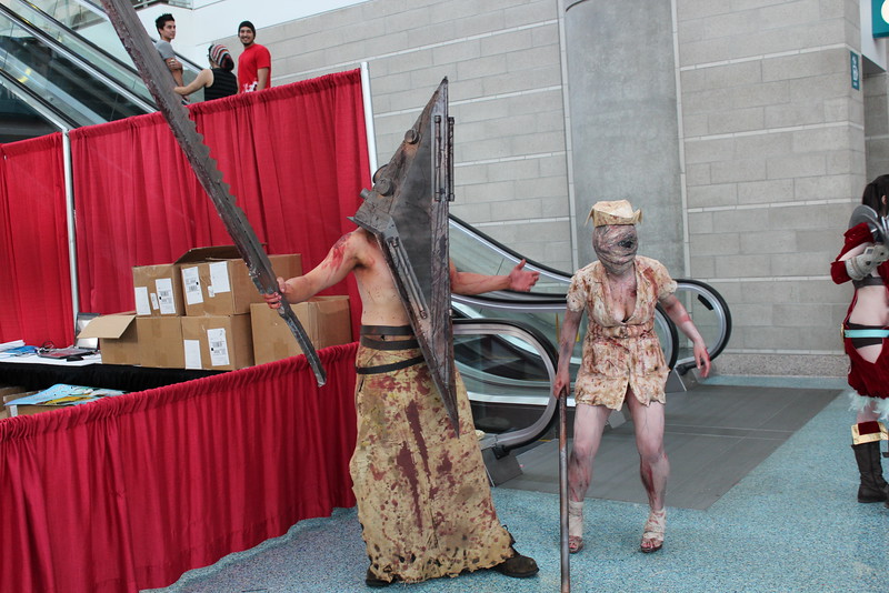 Pyramid Head and Nurse