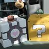 Companion Cube and ? Block